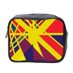 Hot abstraction Mini Toiletries Bag 2-Side