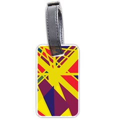 Hot abstraction Luggage Tags (One Side)