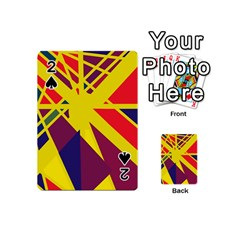 Hot Abstraction Playing Cards 54 (mini)
