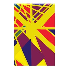 Hot abstraction Shower Curtain 48  x 72  (Small)