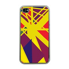 Hot abstraction Apple iPhone 4 Case (Clear)
