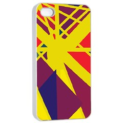 Hot abstraction Apple iPhone 4/4s Seamless Case (White)