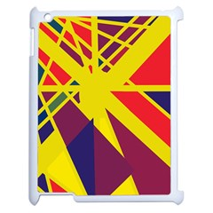 Hot abstraction Apple iPad 2 Case (White)