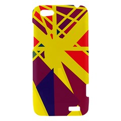 Hot abstraction HTC One V Hardshell Case