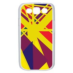 Hot abstraction Samsung Galaxy S III Case (White)