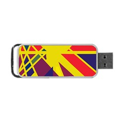 Hot abstraction Portable USB Flash (Two Sides)