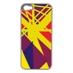 Hot abstraction Apple iPhone 5 Case (Silver)