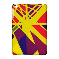 Hot abstraction Apple iPad Mini Hardshell Case (Compatible with Smart Cover)