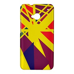 Hot abstraction HTC One M7 Hardshell Case