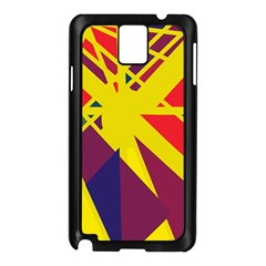 Hot abstraction Samsung Galaxy Note 3 N9005 Case (Black)