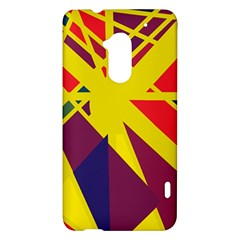 Hot abstraction HTC One Max (T6) Hardshell Case