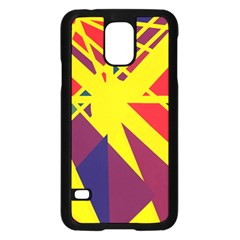 Hot abstraction Samsung Galaxy S5 Case (Black)