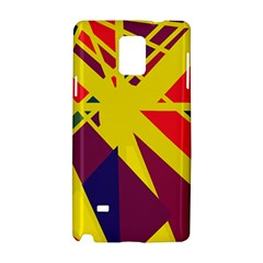 Hot abstraction Samsung Galaxy Note 4 Hardshell Case