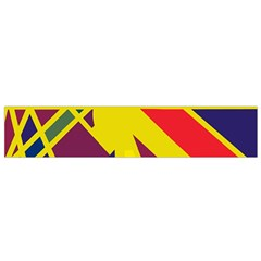 Hot abstraction Flano Scarf (Small)