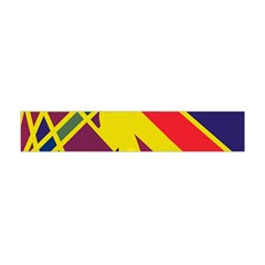 Hot abstraction Flano Scarf (Mini)