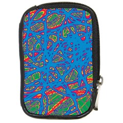Colorful neon chaos Compact Camera Cases
