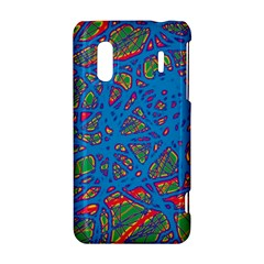 Colorful neon chaos HTC Evo Design 4G/ Hero S Hardshell Case
