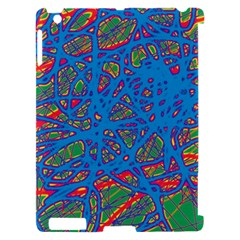 Colorful neon chaos Apple iPad 2 Hardshell Case (Compatible with Smart Cover)