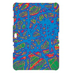 Colorful neon chaos Samsung Galaxy Tab 10.1  P7500 Hardshell Case