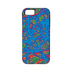 Colorful neon chaos Apple iPhone 5 Classic Hardshell Case (PC+Silicone)