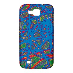 Colorful neon chaos Samsung Galaxy Premier I9260 Hardshell Case