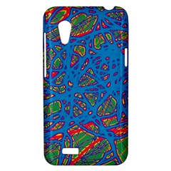 Colorful neon chaos HTC Desire VT (T328T) Hardshell Case