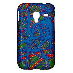 Colorful neon chaos Samsung Galaxy Ace Plus S7500 Hardshell Case