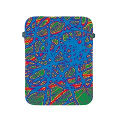 Colorful neon chaos Apple iPad 2/3/4 Protective Soft Cases