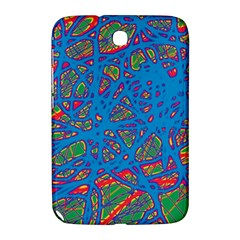 Colorful neon chaos Samsung Galaxy Note 8.0 N5100 Hardshell Case