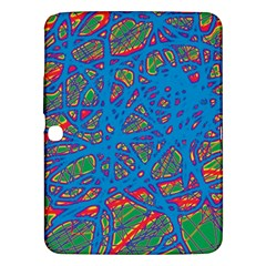 Colorful neon chaos Samsung Galaxy Tab 3 (10.1 ) P5200 Hardshell Case