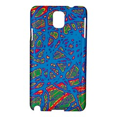 Colorful neon chaos Samsung Galaxy Note 3 N9005 Hardshell Case