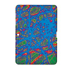 Colorful neon chaos Samsung Galaxy Tab 2 (10.1 ) P5100 Hardshell Case