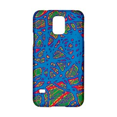 Colorful neon chaos Samsung Galaxy S5 Hardshell Case