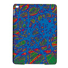 Colorful neon chaos iPad Air 2 Hardshell Cases