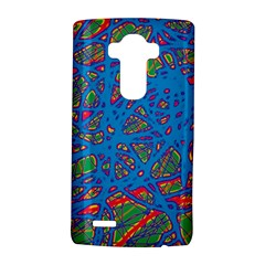 Colorful neon chaos LG G4 Hardshell Case