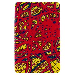 Yellow and red neon design Kindle Fire (1st Gen) Hardshell Case