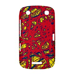 Yellow and red neon design BlackBerry Curve 9380