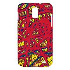 Yellow and red neon design Samsung Galaxy S II Skyrocket Hardshell Case