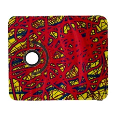 Yellow and red neon design Samsung Galaxy S  III Flip 360 Case