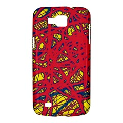 Yellow and red neon design Samsung Galaxy Premier I9260 Hardshell Case