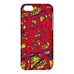 Yellow and red neon design Apple iPhone 5C Hardshell Case
