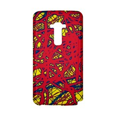 Yellow and red neon design LG G Flex