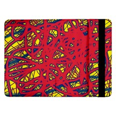 Yellow and red neon design Samsung Galaxy Tab Pro 12.2  Flip Case