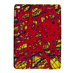 Yellow and red neon design iPad Air 2 Hardshell Cases