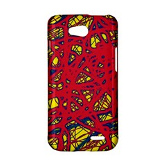 Yellow and red neon design LG L90 D410
