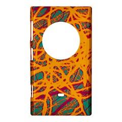 Orange neon chaos Nokia Lumia 1020