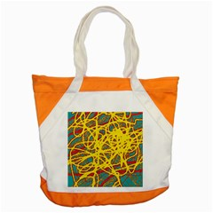 Yellow neon Accent Tote Bag