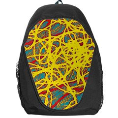 Yellow neon Backpack Bag
