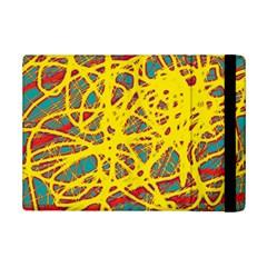 Yellow neon iPad Mini 2 Flip Cases