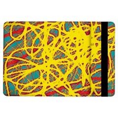 Yellow neon iPad Air Flip